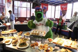 Citizen's Bank Park new merchandise and menu... Philly staple, Tony Luke's