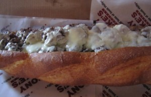 Tony Luke's- The Real Taste of South Philly