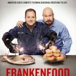 Tony Luke handing out Frankenfood in Center City