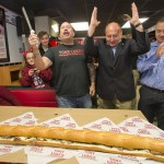 Grand Opening: Tony Luke's cuts the cheesesteak in Allentown