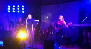 The Luke Warm Hungarian Hots featuring Tony Luke Jr. at the Monster Bash