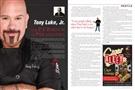 Tony Luke Jr featured in Jersey Man magazine