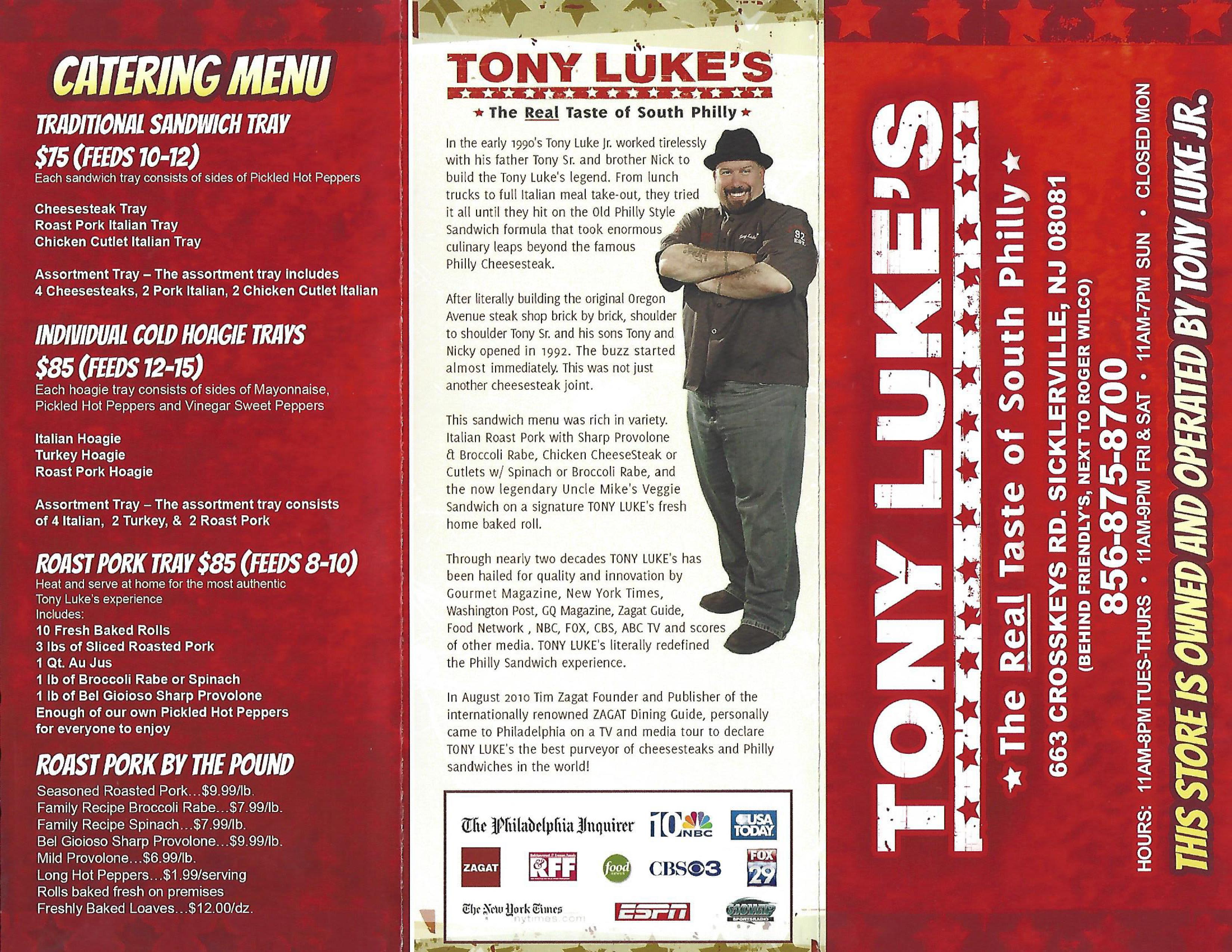 Tony Luke's Sicklerville