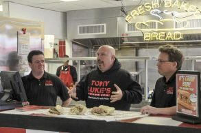 Tony Luke cheesesteaks franchise