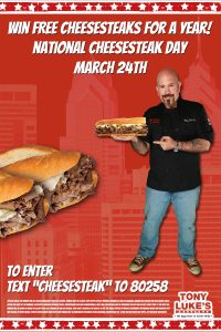 National Cheesesteak Day Contest